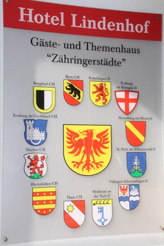 Theme rooms Zähringer Towns