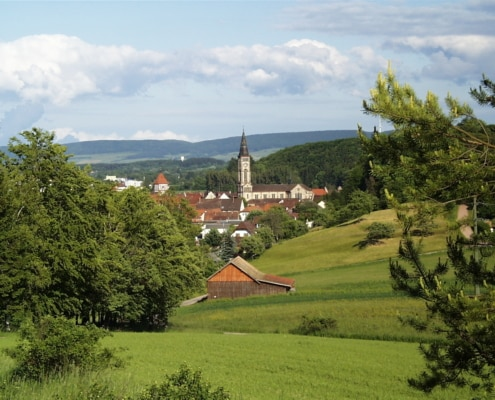 Bräunlingen bei Donaueschingen im Schwarzwald