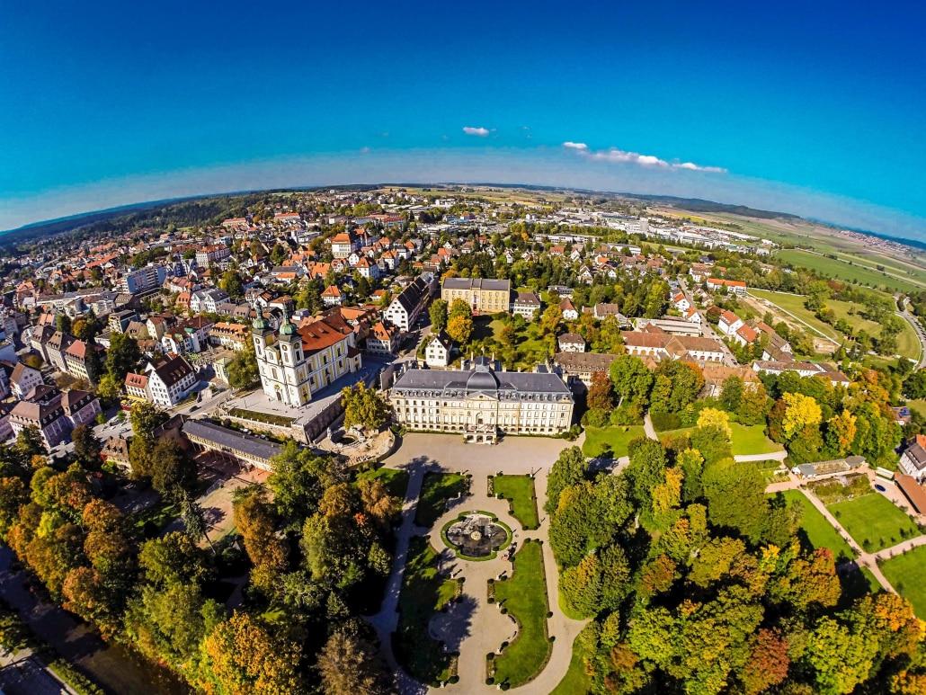Luftbild Donaueschingen, Rolf Wetzel