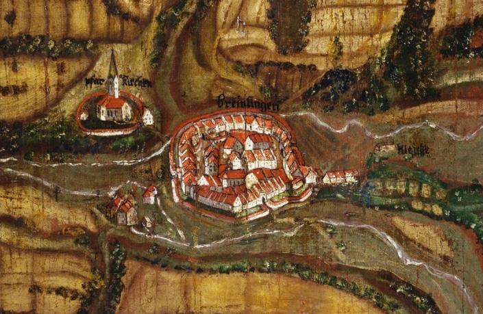 historische stadtansicht 705x459 - Hotel Lindenhof near Donaueschingen: Rooms and prices