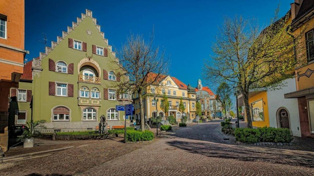 rathaus donaueschingen 1030x579 - Hotel bei Donaueschingen und Hüfingen