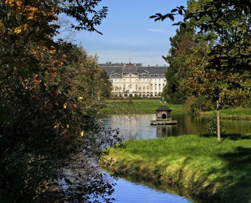 schlosspark donaueschingen 495x400 - Hotel bei Donaueschingen und Hüfingen