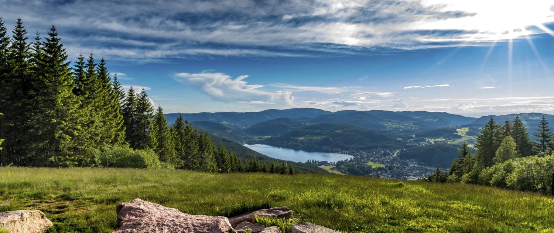 "schwarzwald titisee vom hochfirst 1500x630 - Offres spéciales ""Vacances en Forêt Noire"" - Hotel Lindenhof"