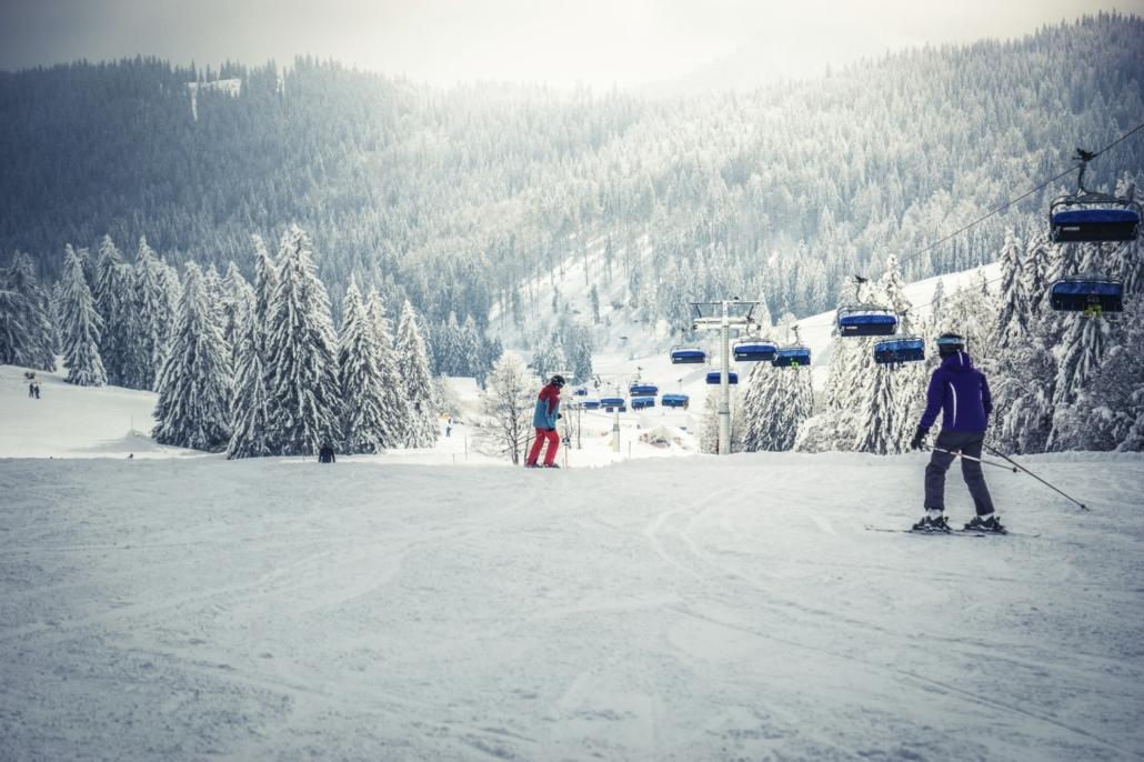 Skifahren Feldberg