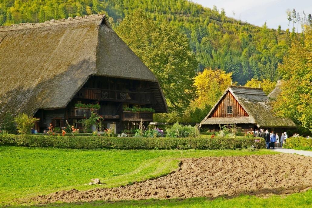 Deutschland,Baden-Wuerttemberg,Schwarzwald,Gutach,Museum Vogtsbauernhof
