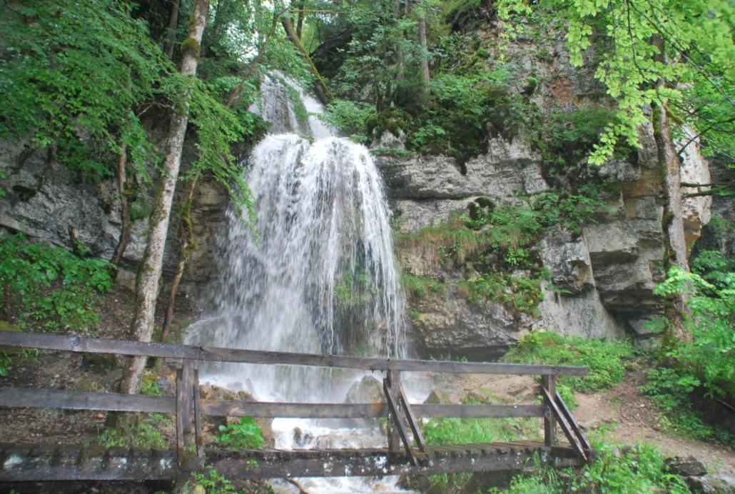 Wutachschlucht Wasserfall wandern