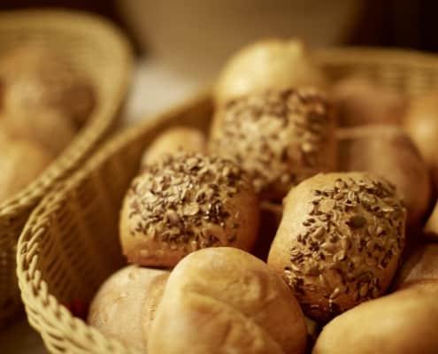 Brot frisch aus der Bäckerei
