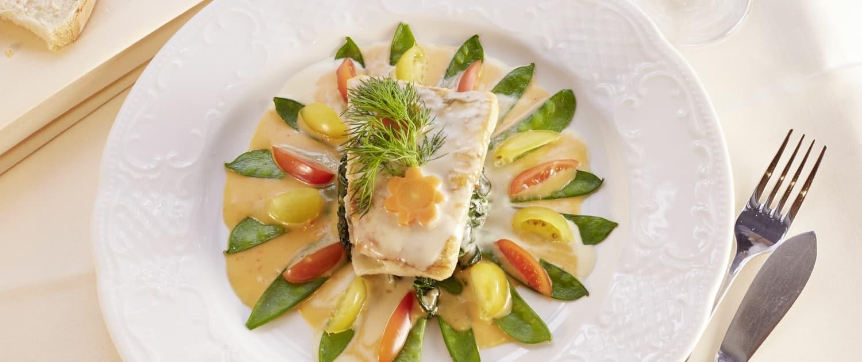 Gourmet-Küche im Restaurant Lindenhof