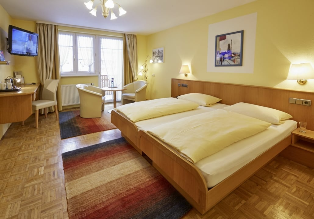 Hotel-Zimmer Donaueschingen im Schwarzwald