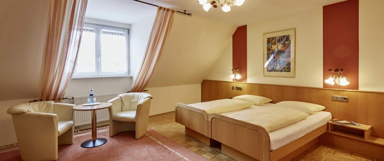 Komfort Plus Zimmer im Romantischen Hotel Donaueschingen