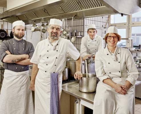 Josef Dury und sein Küchenteam - Restaurant mit feiner Deutscher Küche