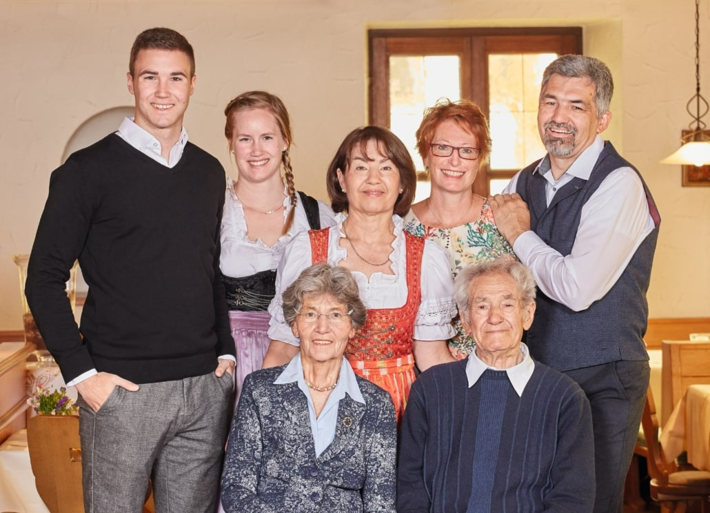 Dury Family - running Hotel Lindenhof since four generations