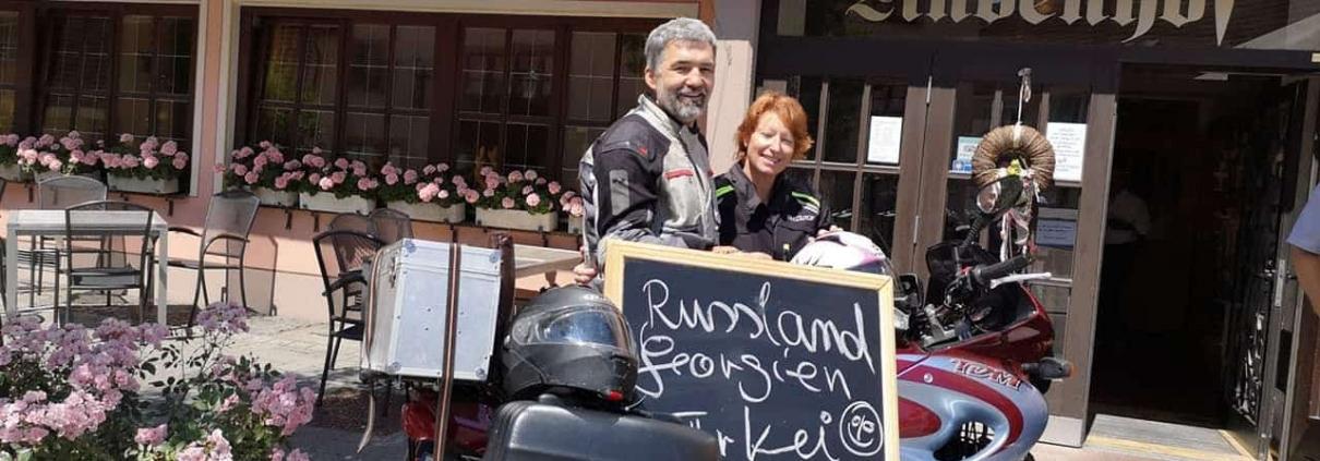 Mit dem Motorrad in Urlaub